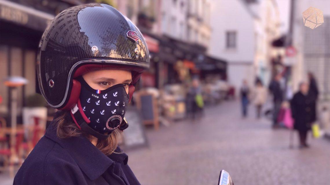 J'ai testé pour vous le masque anti-pollution R-pur